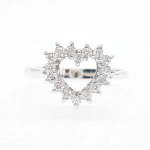 Fancy cz ring แหวนเพชรสวิส เพชรcz แหวนแฟนซี โรงงานผลิตเครื่องประดับเพชรสังเคราะห์ F86