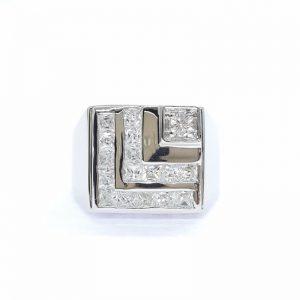 Men ring cz ring แหวนเพชรสวิส เพชรcz แหวนชาย โรงงานผลิตเครื่องประดับเพชรสังเคราะห์ M235