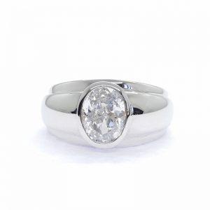 Men ring cz ring แหวนเพชรสวิส เพชรcz แหวนชาย โรงงานผลิตเครื่องประดับเพชรสังเคราะห์ M286
