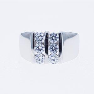 cz ring แหวนเพชรสวิส เพชรcz โรงงานผลิตเครื่องประดับเพชรสังเคราะห์ M277